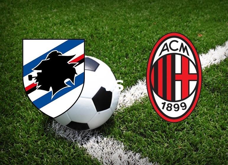 Sampdoria Milan streaming live gratis. N