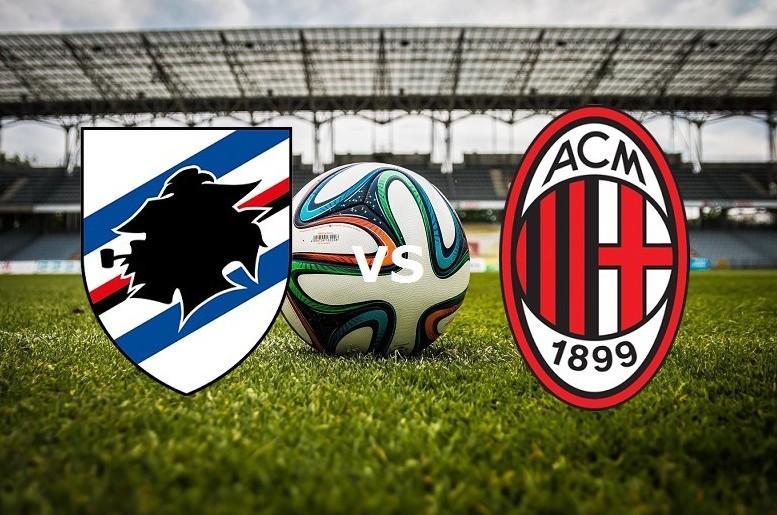 Sampdoria Milan streaming in diretta