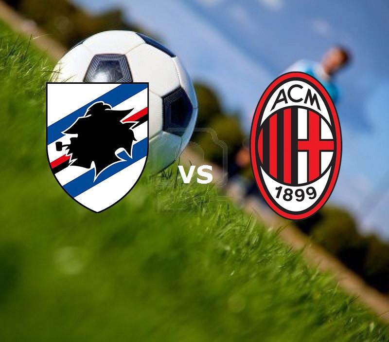 Milan Sampdoria streaming al via ora liv