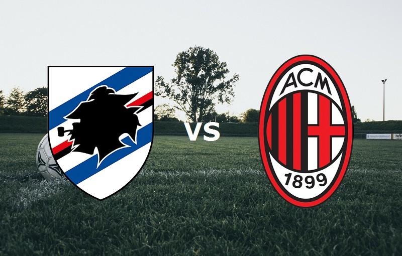 Sampdoria Milan streaming live gratis li