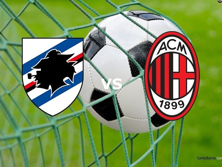 Sampdoria Milan streaming gratis live su