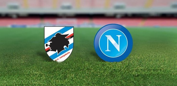 Sampdoria Napoli streaming live gratis.