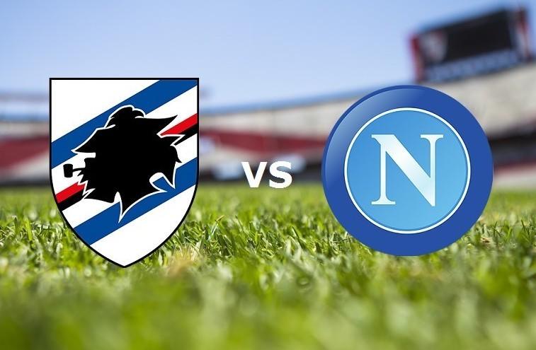 Sampdoria Napoli streaming live per vede