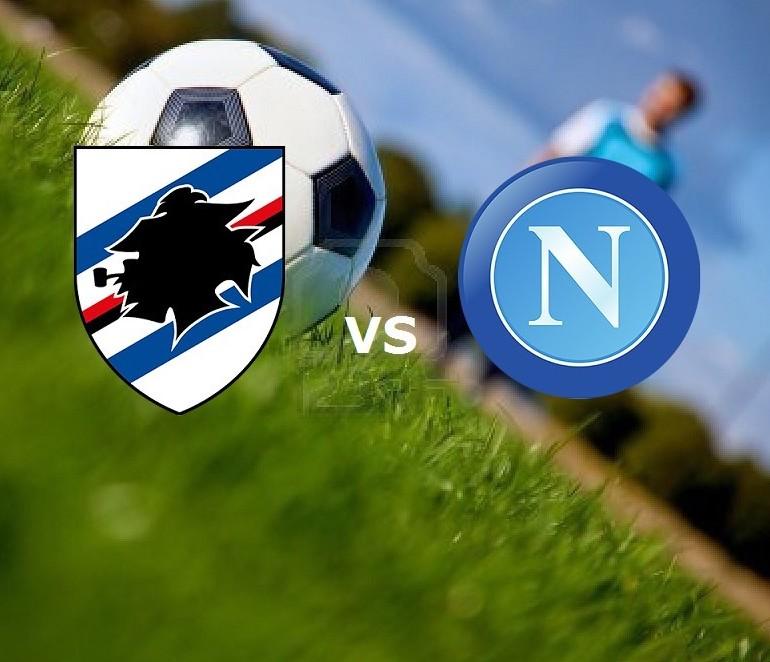 Sampdoria Napoli streaming live gratis s