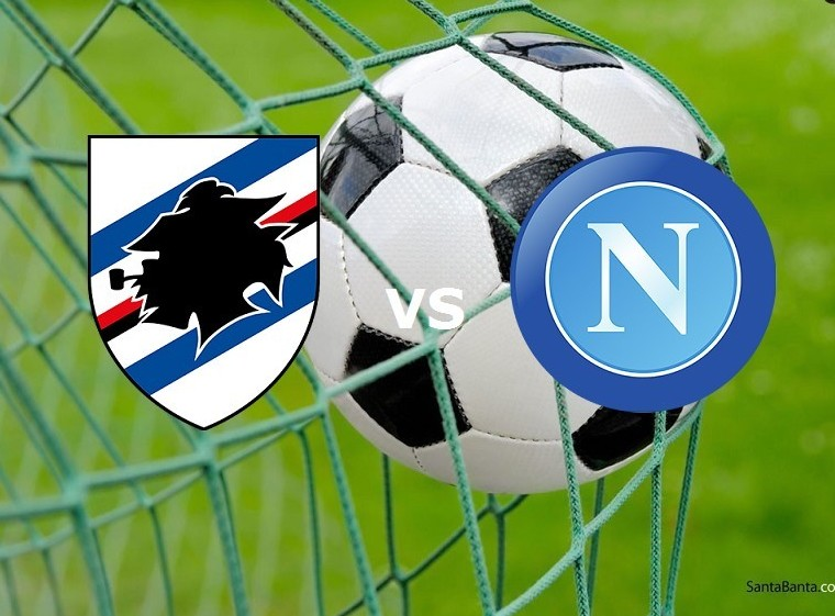 Sampdoria Napoli streaming su siti, Roja