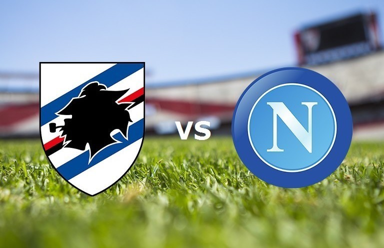 Sampdoria Napoli streaming live gratis.