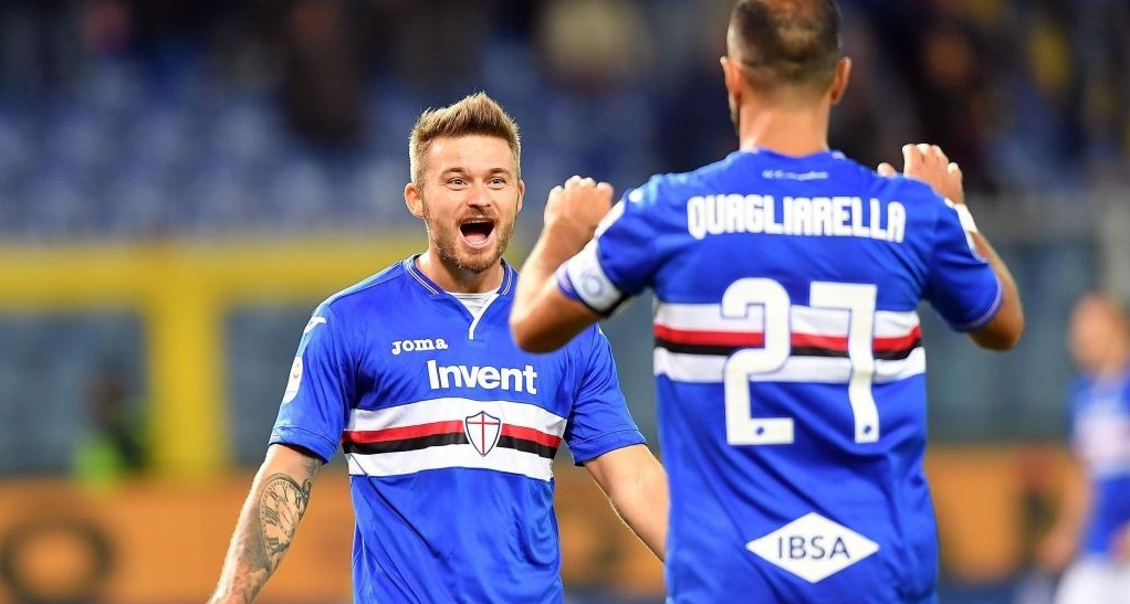 Sampdoria Roma streaming gratis live per