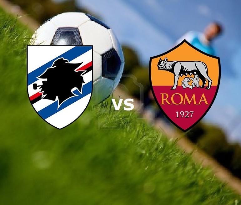 Sampdoria Roma streaming live gratis. Ve