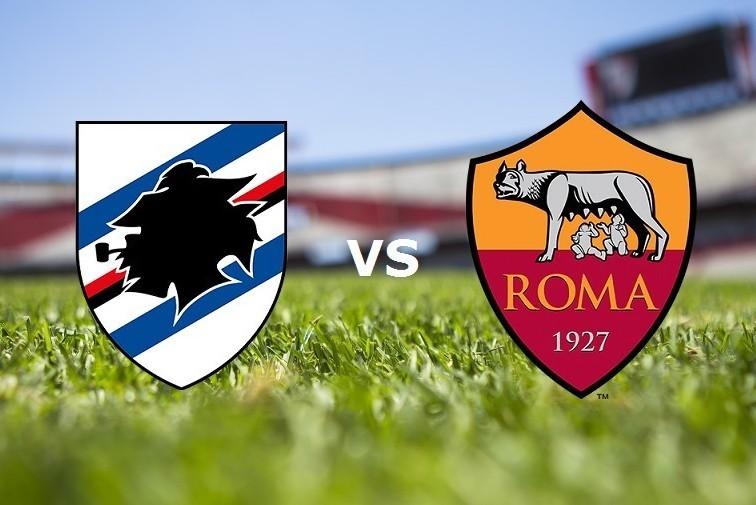 Sampdoria Roma streaming live gratis su