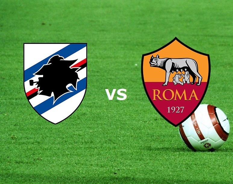 Sampdoria Roma streaming su link, siti w
