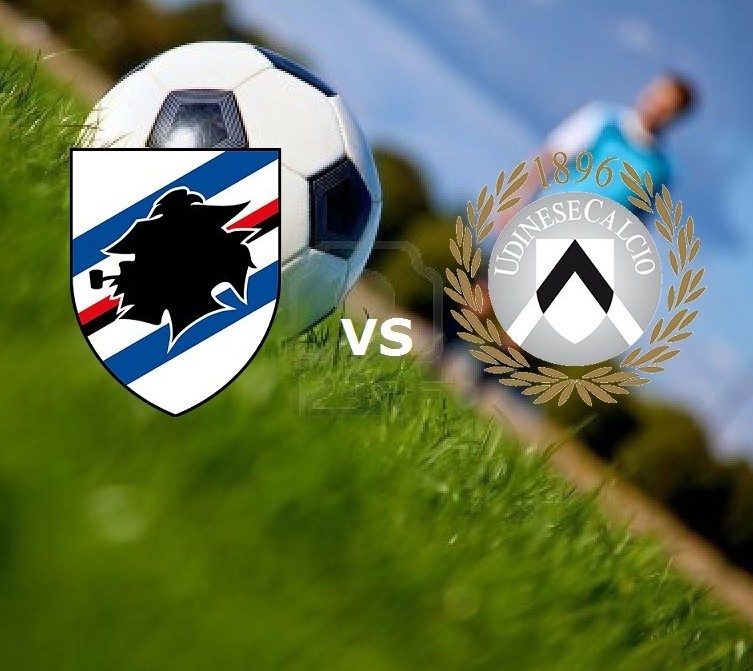 Sampdoria Udinese streaming gratis live.