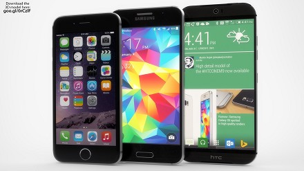 Samsung Galaxy S6, HTC One M9, iPhone 6: