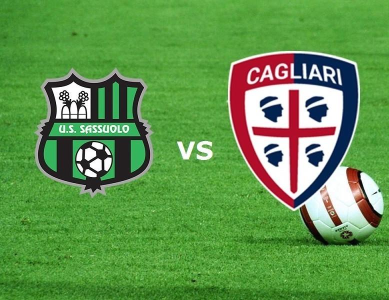 Sassuolo Cagliari streaming live gratis.