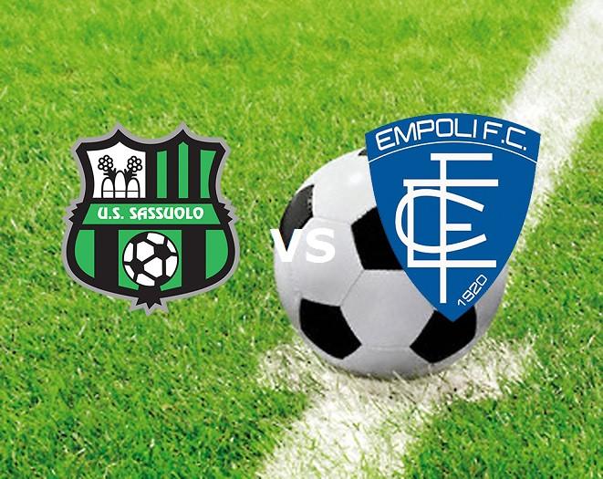 Sassuolo Empoli streaming gratis live di