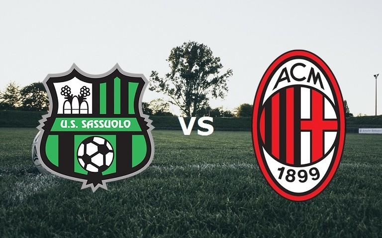 Sassuolo Milan streaming gratis live. Ve