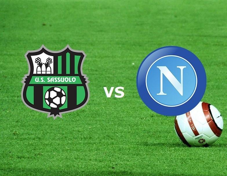 Sassuolo Napoli streaming gratis live. V
