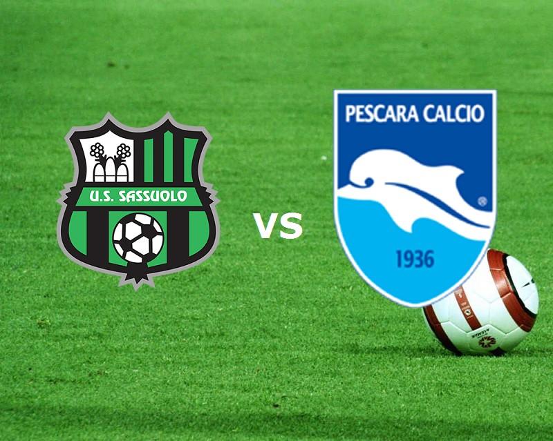 Sassuolo Pescara streaming. Dove vedere