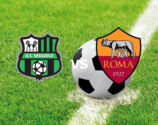 Sassuolo Roma streaming live diretta gra