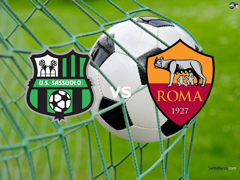 Sassuolo Roma live streaming diretta per