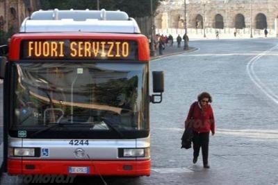 Sciopero oggi Roma, Catania sciopero met