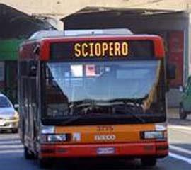 Sciopero trasporti pubblici Torino, Mila