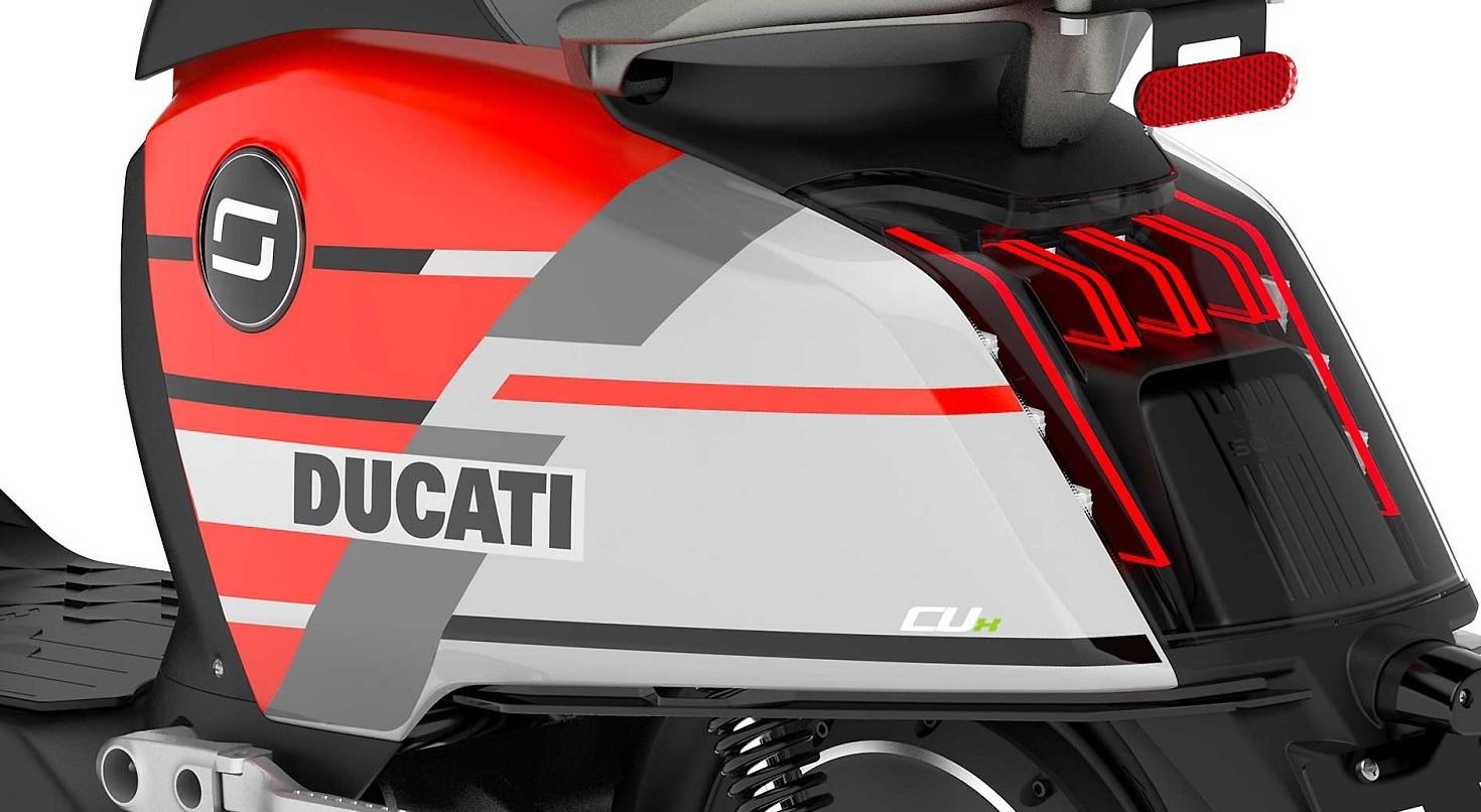 Scooter elettrico Ducati: arriva Super S