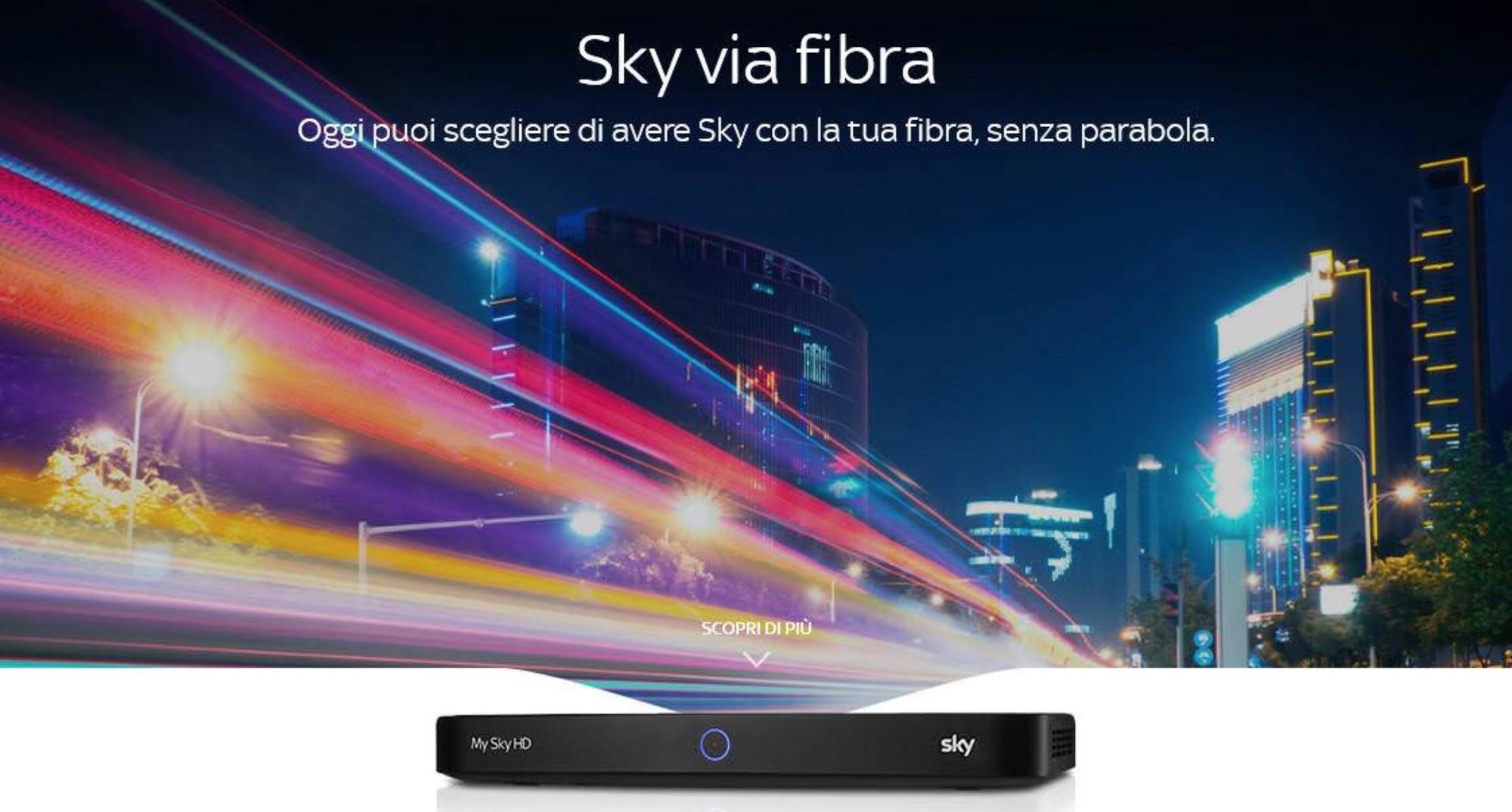 Sky, al via rivoluzione con offerte tele