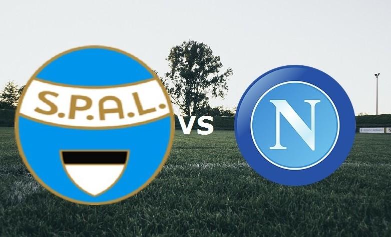 SPAL Napoli streaming gratis live. Veder