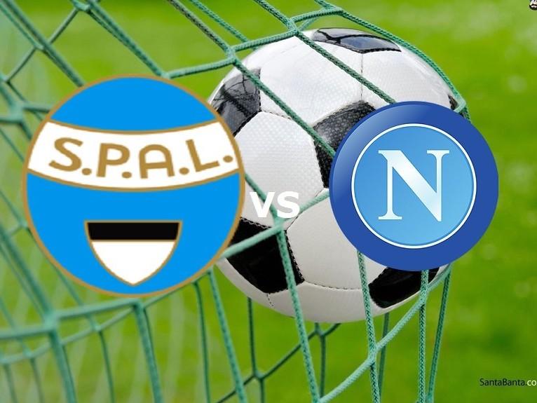 SPAL Napoli streaming live gratis dirett