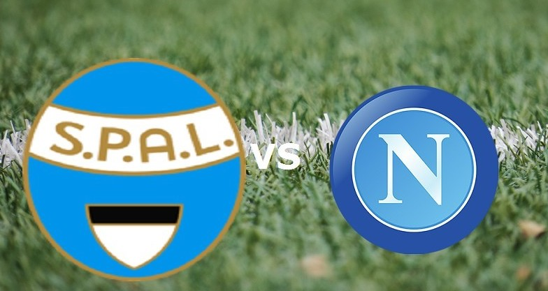 SPAL Napoli streaming gratis live dirett