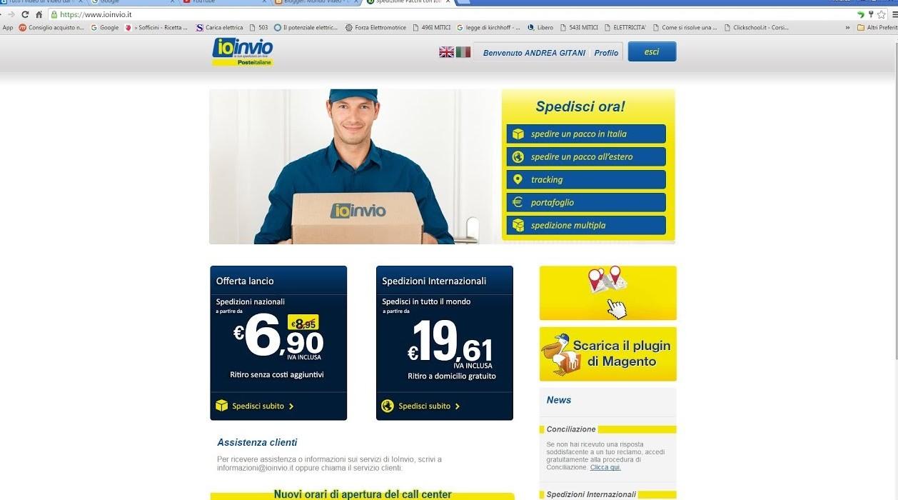 Normalization Distinguish novel  Spedizioni pacchi senza andare in ufficio Postale, nuovo servizio ...