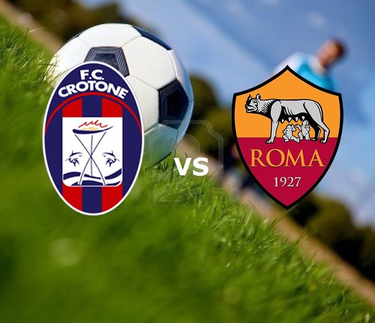 Streaming Crotone Roma gratis live in di