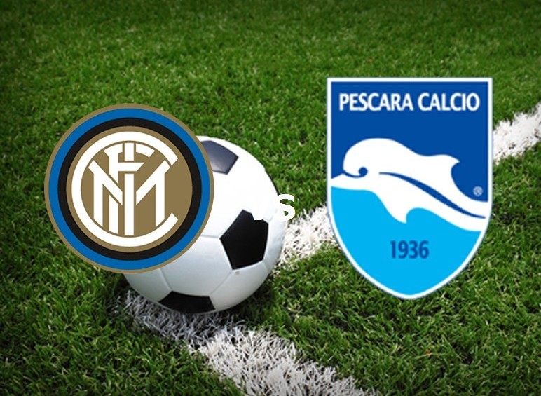 Inter Pescara streaming gratis live Seri