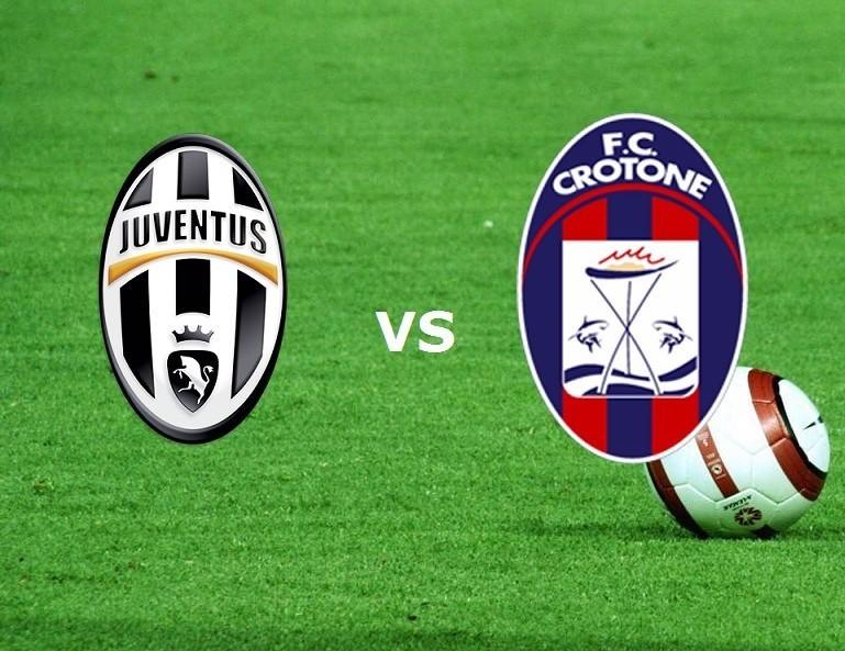 Juventus Crotone streaming live gratis e