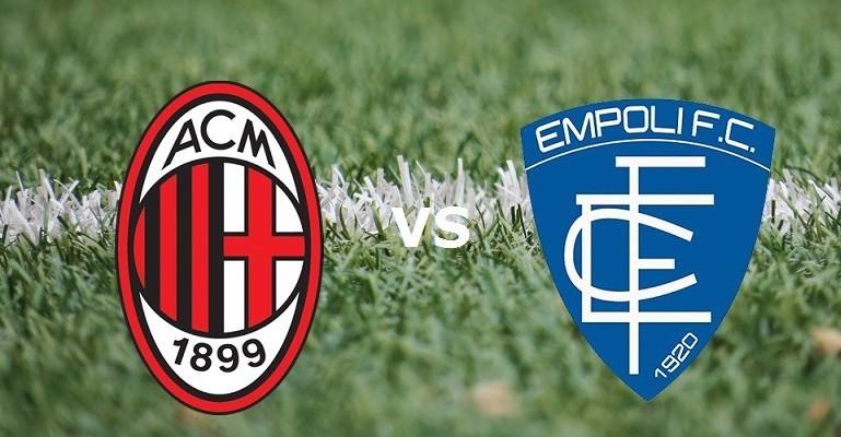 Streaming Milan Empoli live gratis su si