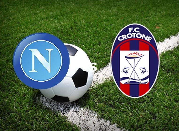 Napoli Crotone streaming live gratis su