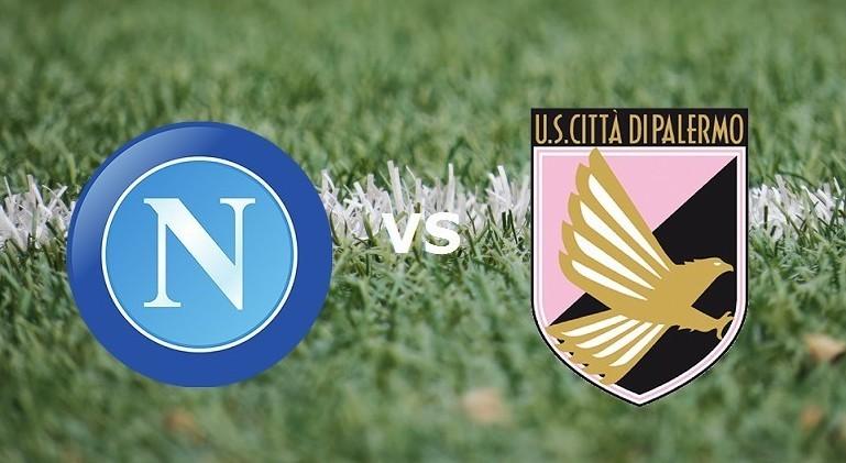 Streaming Napoli Palermo live gratis su