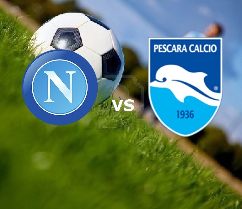 Streaming Napoli Pescara gratis live in