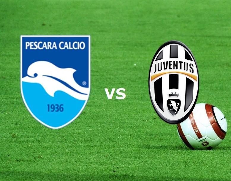 Streaming Pescara Juventus gratis live s