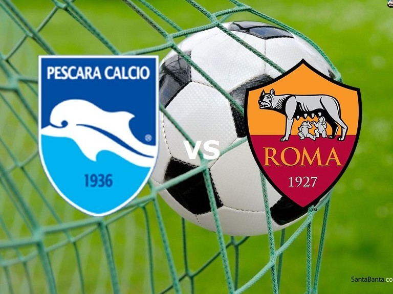 Streaming Pescara Roma Serie A live grat