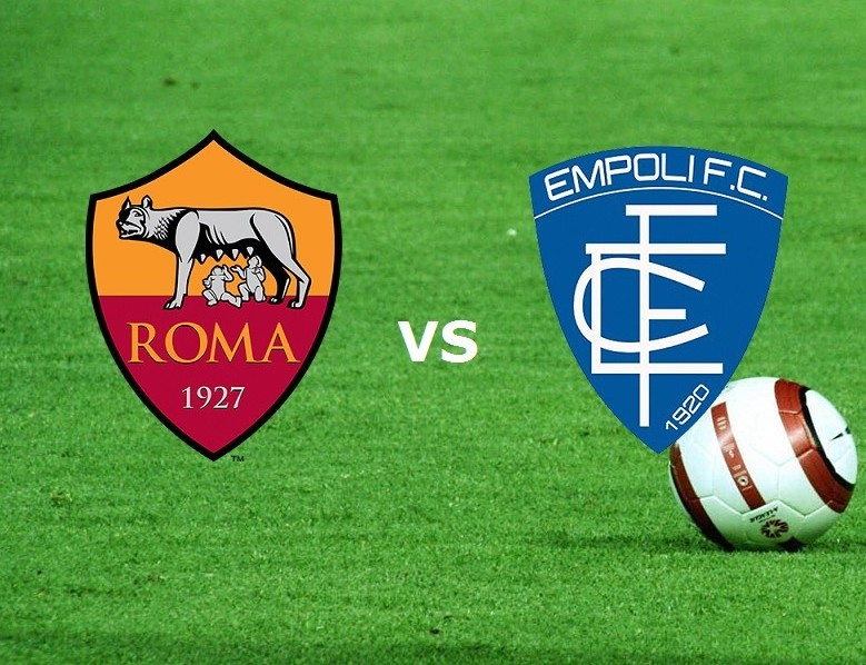 Streaming Roma Empoli live gratis su sit
