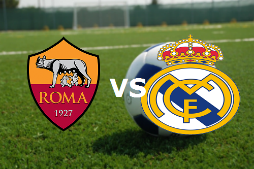 Streaming Roma Real Madrid live gratis.
