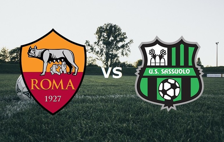 Streaming Roma Sassuolo live gratis in d