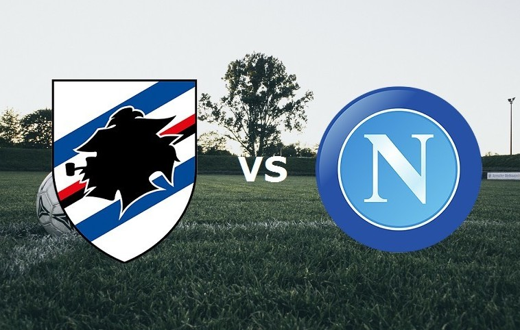 Sampdoria Napoli streaming live gratis e