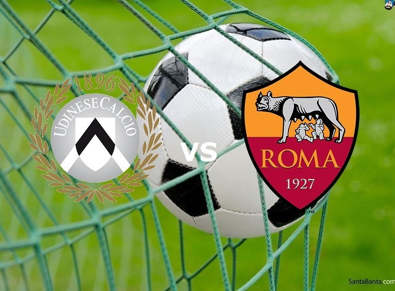 Streaming Udinese Roma live gratis Serie
