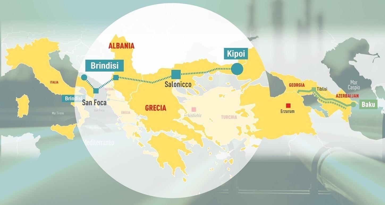 Tap: gasdotto fondamentale per Italia da