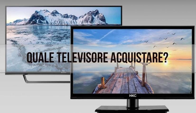 Tv, tenere o scegliere tra diversi model