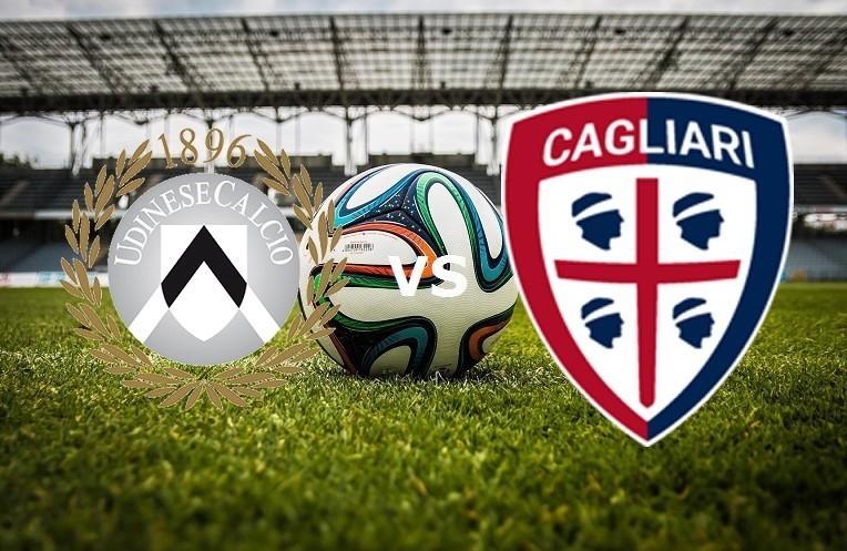 Udinese Cagliari streaming live gratis.