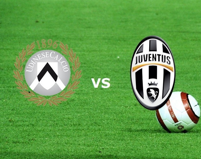 Udinese Juventus streaming e in italiano
