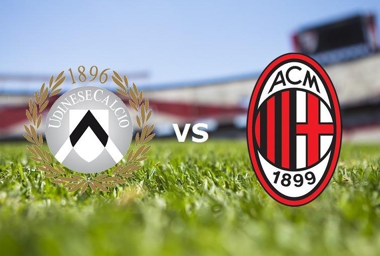 Udinese Milan streaming gratis live su m